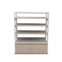 2015 New style and high quality wood bread display rack
