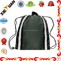 Wholesale Reflective Sports Mens Drawstring Bags Backpack Beach Bags