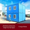 Modern Romantic Container Module prefabricated fiberglass houses and villas moveable