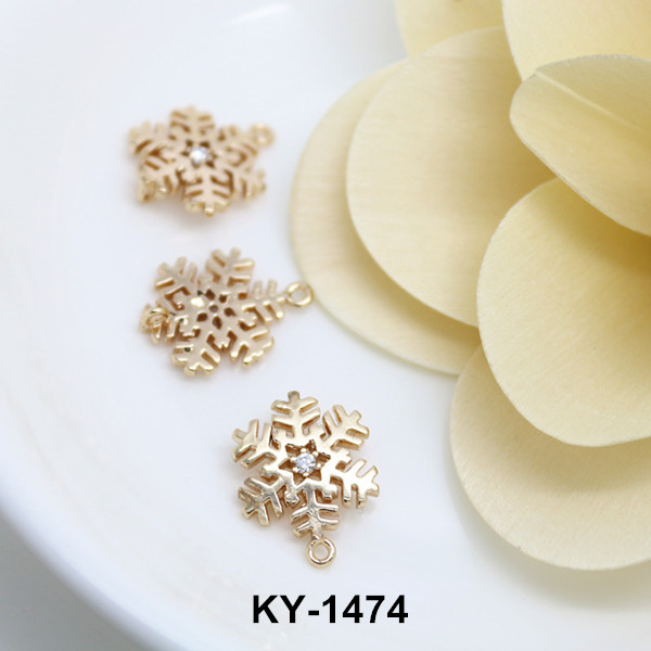 wholesale cheap pendant christmas metal charm ky 1475