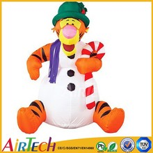 cheap inflatable christmas tiger hot sale inflatable tiger