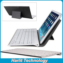 2015 New Wireless Bluetooth Keyboard With Leather Cover For iPad Pro Bluetooth Keyboard Cover Case For iPad 12.9 inch