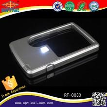 Wholesale led light card magnifier