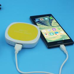 2015 new power bank 4000mah make up mirror power bank external battery rechargeable for cellphone power bank