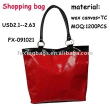 Fashion cheap women promotional shopping bags 2012