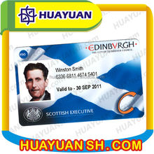 employee rfid contactless photo id card