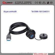 IP67 USB3.0 USB2.0 Data Communication Connectors and Data Connectors
