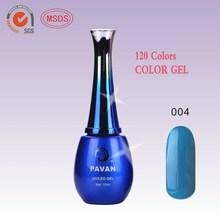 2015 newest 120 colors 15ml professional nail salon gel polish