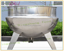 First grade industrial soup cooking pot with double layer