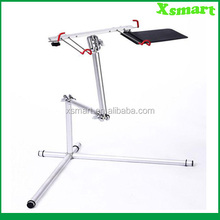 Fashion and Portable design Alluminum folding laptop floor stand desk