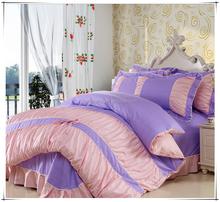 Luxury hotel linen duvet cover set /100% Egyptian Cotton bedroom furniture bed set/Sateen Bed sheet set blanket wholesale