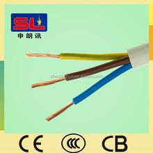 Wholesale Electric Cable 3 Core Flexible Copper Wire