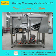 Continuous edible oil filter factory