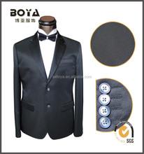 2015 new design slim fit tuxedo suit for man T/R clothes