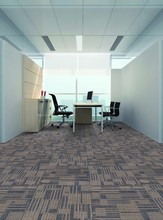 DS serie bitumen with cushion back carpet tile