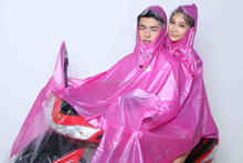 PVC film Double rain poncho raincoat motocycle