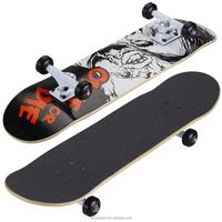 3108C-16BUC5032 pure Canadian maple professional 4 wheel SHR PU skateboard