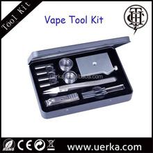 Multifunctional DIY atomizer tool kit including coil jig/ atomizer holder/Tweezer with magnet design