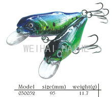 95mm hard body bait fishing lures wobblers