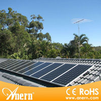 Solar pv sun tracker system for 500W with lead acid battery