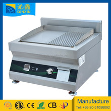 stainless steel induction flat cast iron comercial bbq grill/big party electric barbecue grill