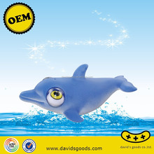 rolling eye poped dolphin toys custom animal urban vinyl 3C vinyl toys producer