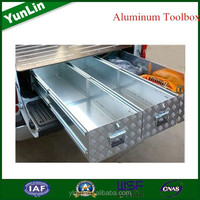 aluminum checker plate tool box for first-aid kit