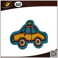 Colourfull Embroidery Patch Custom Car Logo Woven Badge For Clothes
