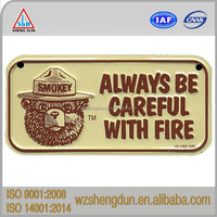 High security illuminated license plate for customized