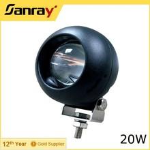 Round 10-30V 4.0 Inch 20W Cob LED Work Light, 6500K 1800LM auto headlight