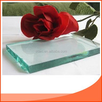 2mm~19mm clear float glass / ultra clear float glass and tinted tempered float glass price