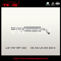 CAR EXHAUST SILENCER MUFFLER SYSTEM MANUFACTURE FOR VW GOLF