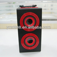 Portable Audio Player,Mobile Phone,Computer Use and Passive,lovely Music with Handle wooden speaker