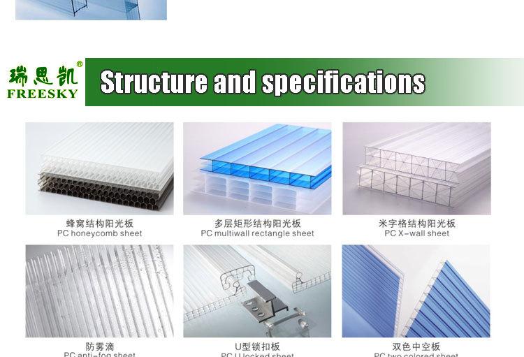 Guangzhou begreen polycarbonate conservatory roof polycarbonate sheeting for - Plaques polycarbonate pour veranda ...