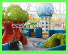 new design theme park creative soft foam sculpted Soft toys as theme park