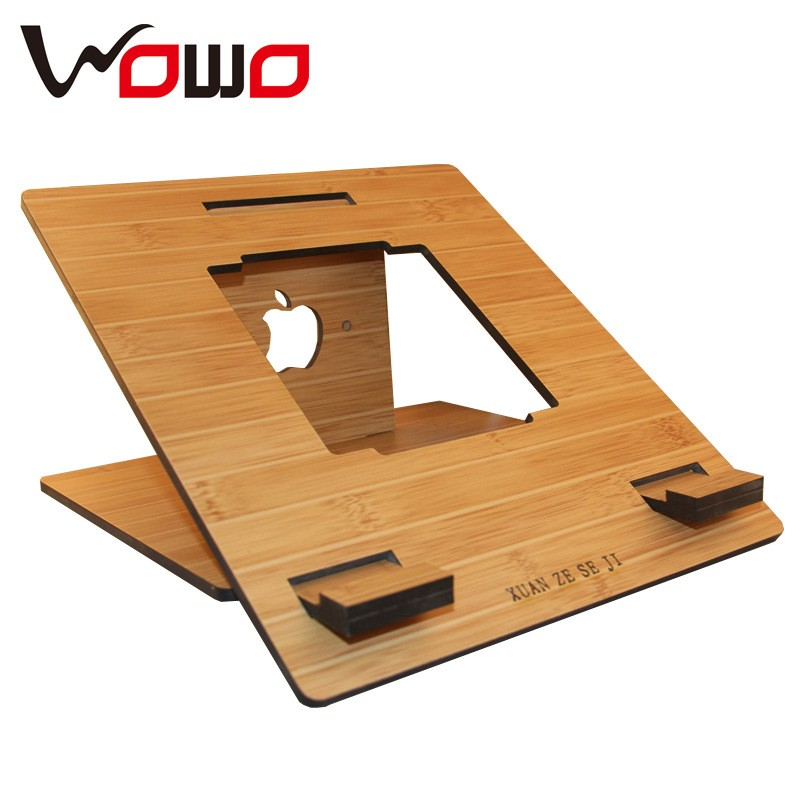 Simple En Bois PadTable PC Titulaire Stand pour ipad support en bois charigi -> Table Tel En Boi Simple