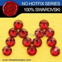 New Style Swarovski Elements Red Magma (REDM) 5ss Flat Back Crystal Stone
