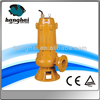 WQ non-clogging centrifugal submersible industrial water pumping machine