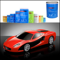 Free samples available glow in the dark red metallic pigment for car refinishing paint