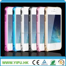 Aluminum bumper case for iphone 4 4S