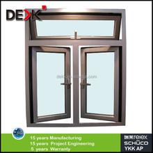 Tempered LOWE glass window,aluminium casement window and door, aluminium window manufacturer