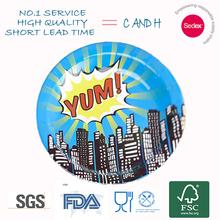 company logo printed plate