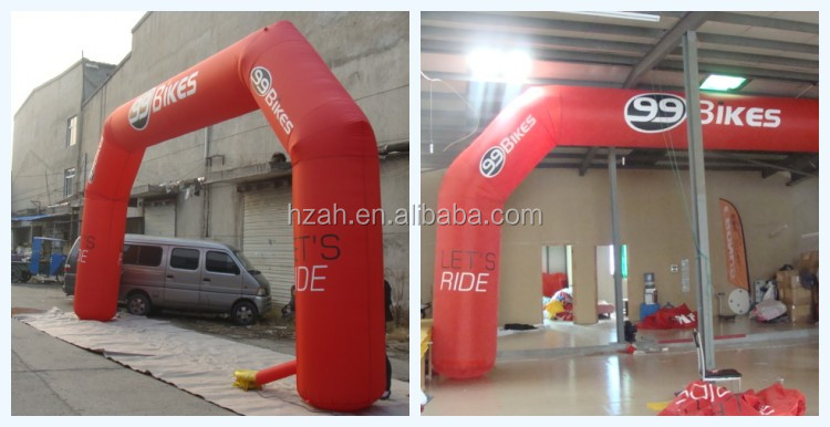 Cheap Inflatable Arch for Advertisement