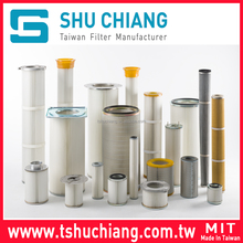 Industrial Dust Collector Air Filter Cartridge Square End Cap Cartridge Filter