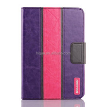 TPU Cover Wallet Leather Case for iPad Mini 1 2 3 Cover with Credit Cards Slots