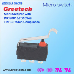 2015 Factory Wholesale price waterproof miniature electric limit micro switch