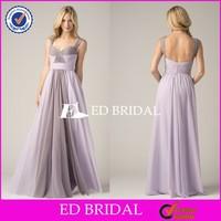 CE1058 Unique Fashion 2015 Two Color Purple Super Plus Size Bridesmaid Dresses