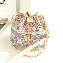 2015 new product cheap canvas bucket bag for girls