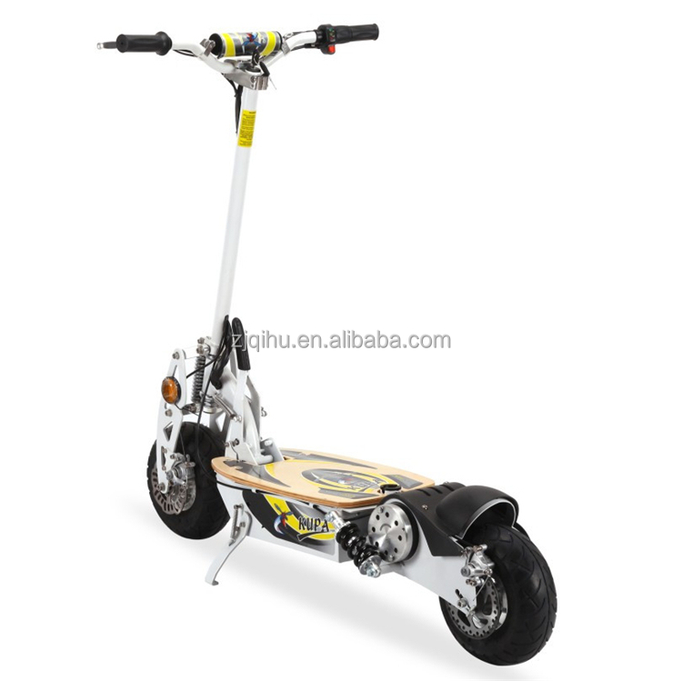 Made in china dc motor 500w 3 wheels scooter stand up for Stand on scooters with motor