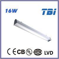 16W CE CB UL EMC LVD IP65 2x36w ip65 waterproof lighting fixture ip65 led shower lamp waterproof led ceiling light